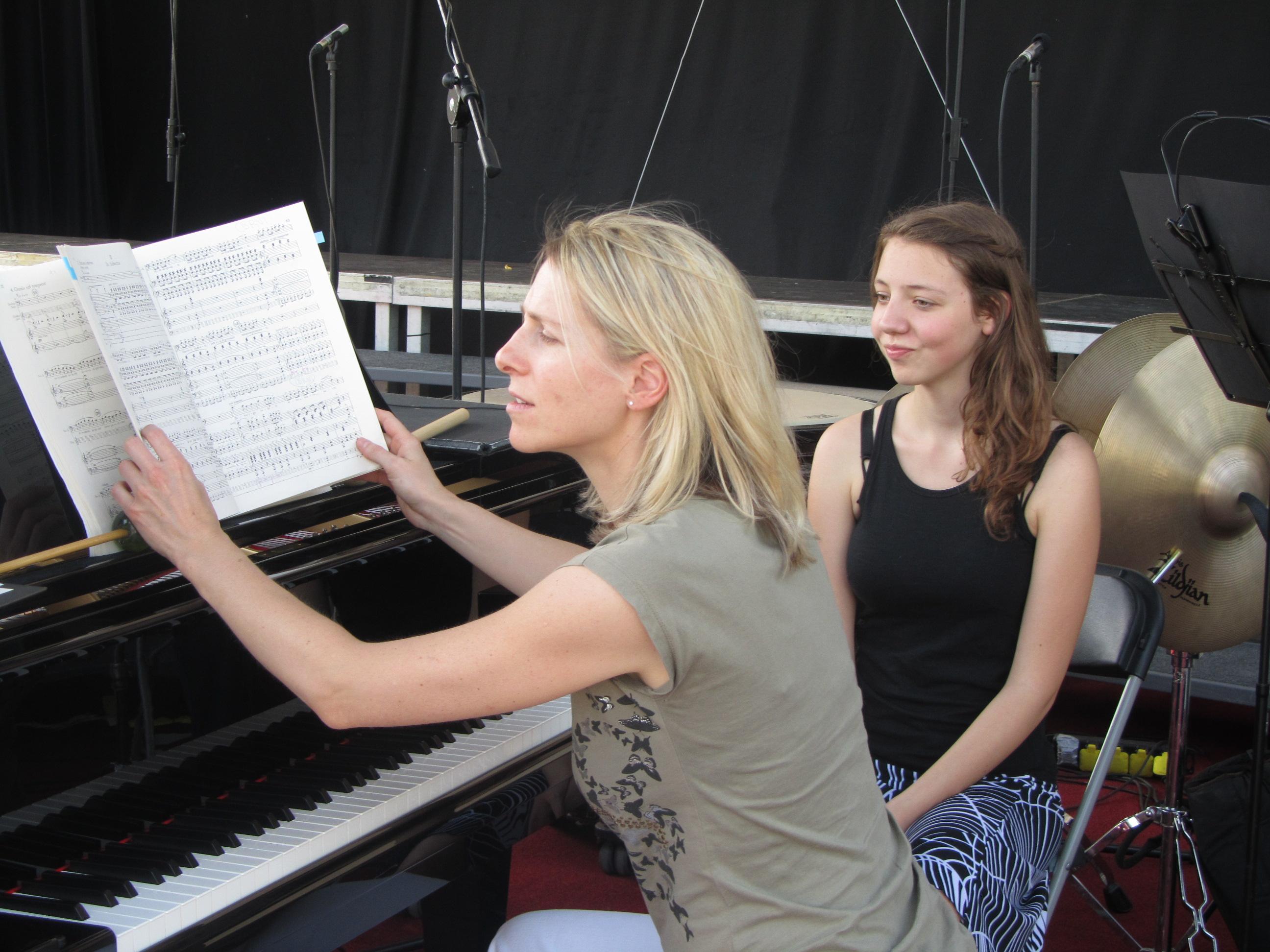 Pianistka Kristina Arnič