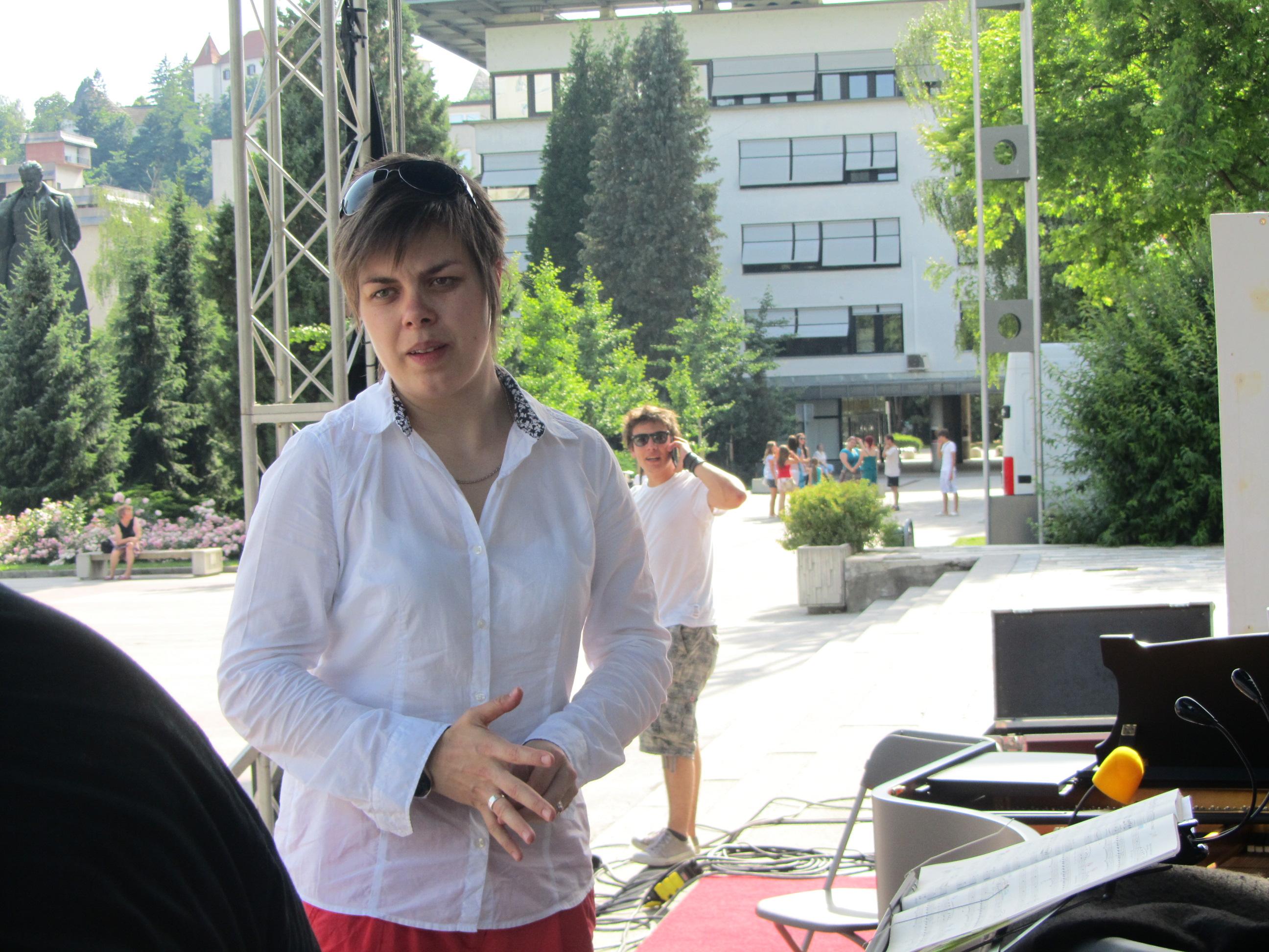 Dirigentka Martina Batič