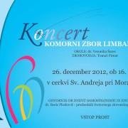 Božični koncert Limbar 2012