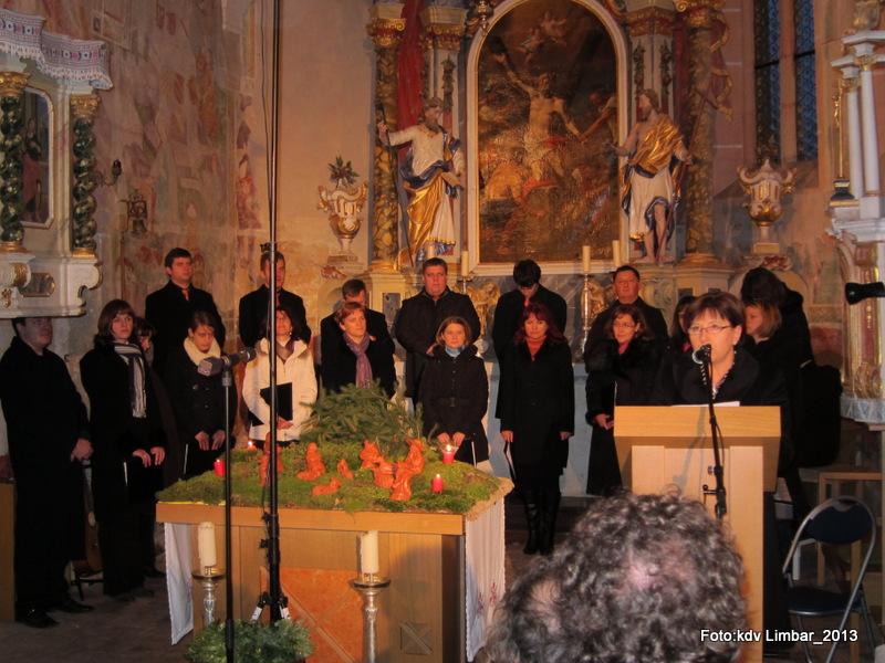 Božični koncert KZ Limbar 2013. Foto: Karel Drago Vuica