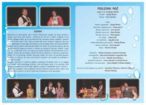 Gledališki list - vsebina