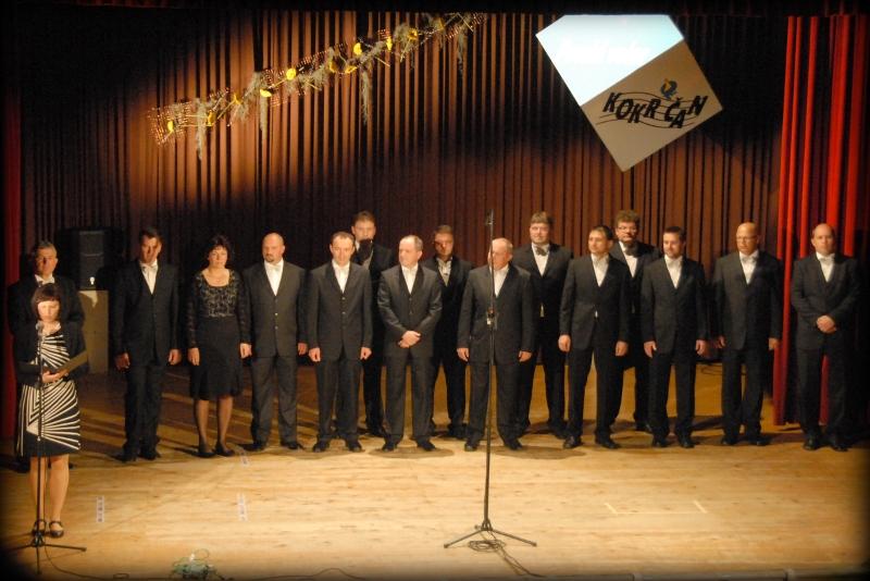 Vokalna skupina KOKR'ČAN, zborovodja Ignac Gorjanc